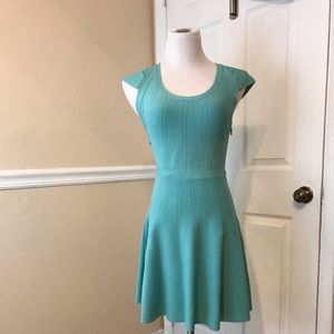 Beautiful teal green Guess Dress size S super cute